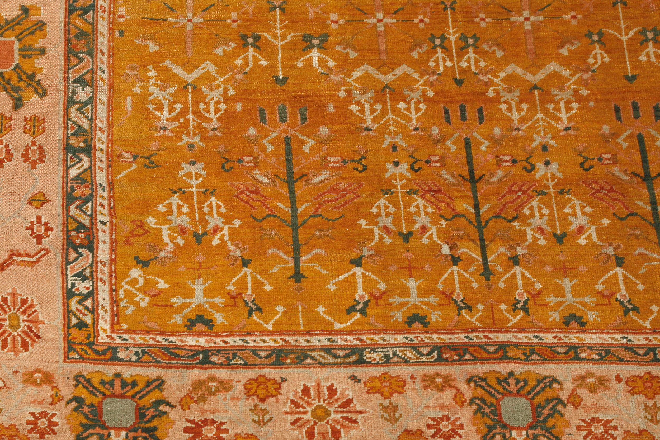 Antique Ushak Carpet 315x287cm