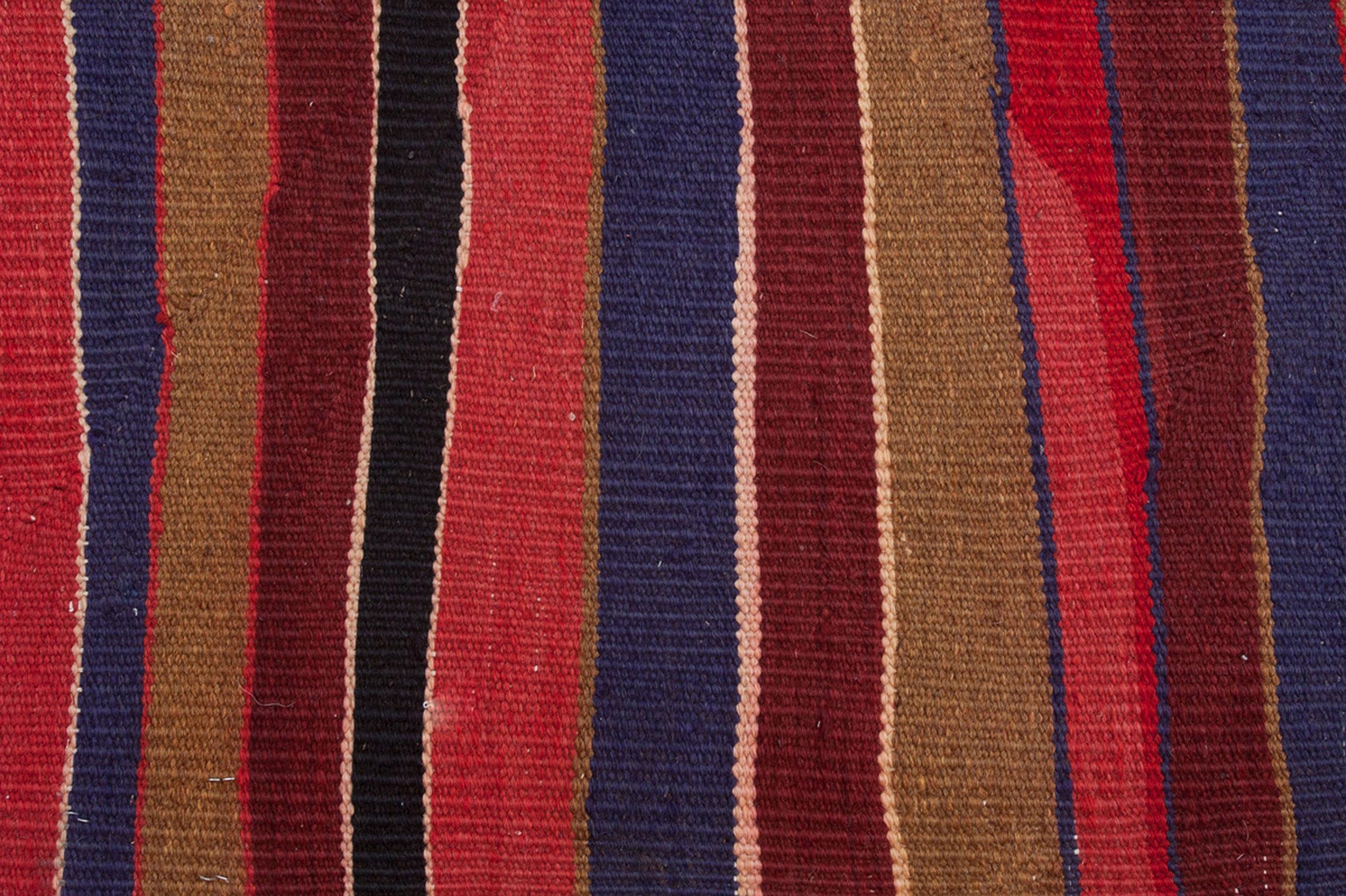 Antique Kurdish Kilim Carpet 360x207cm