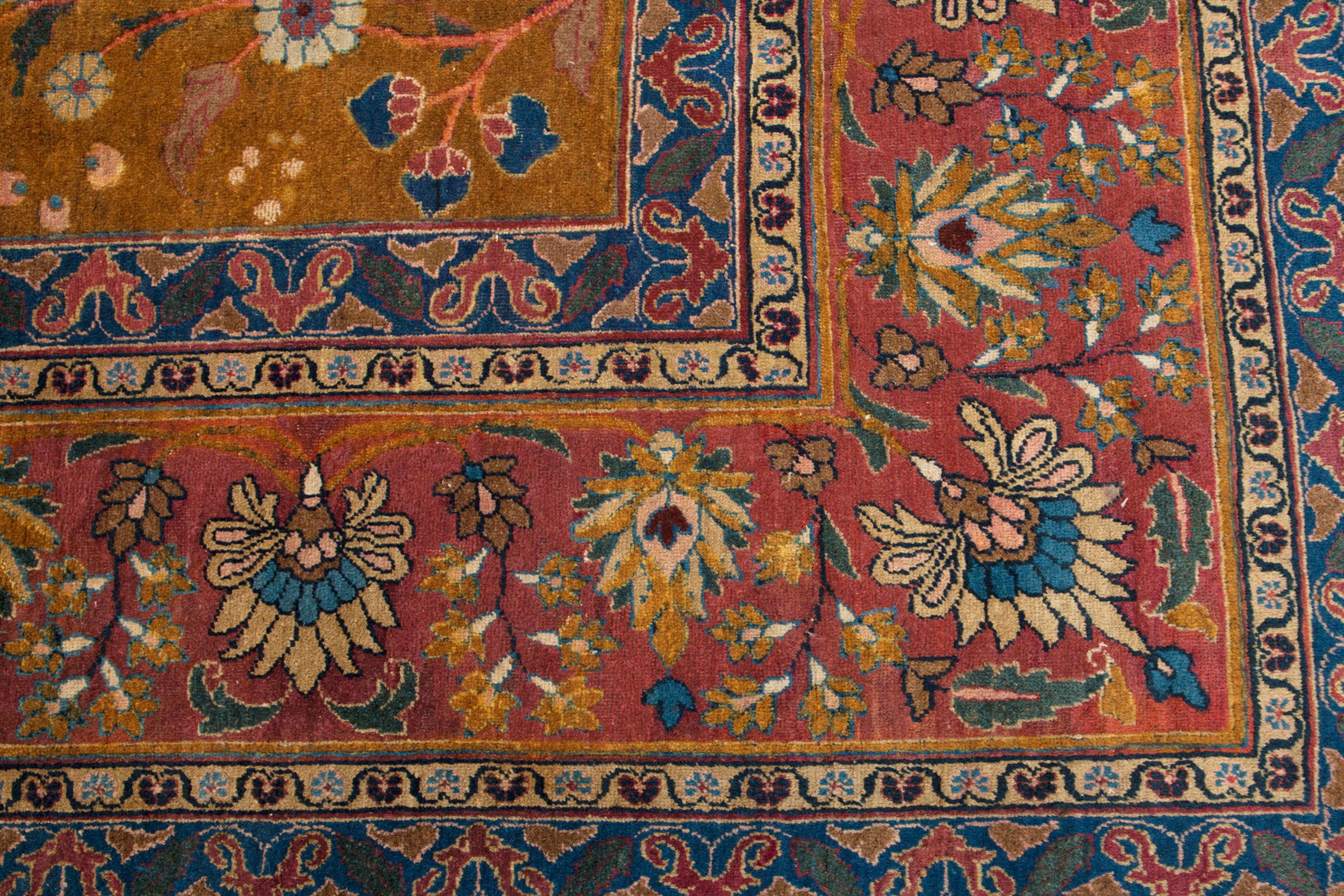 Antique Semnan Carpet 390x292cm