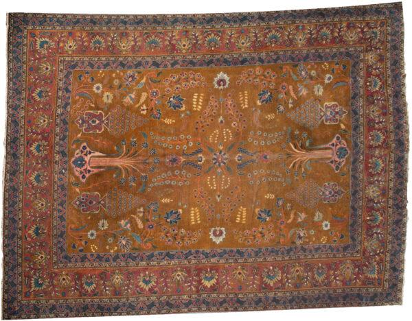 Antique Semnan Carpet 390x292cm