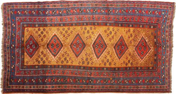 Vintage Qashqai Rug 268x122cm