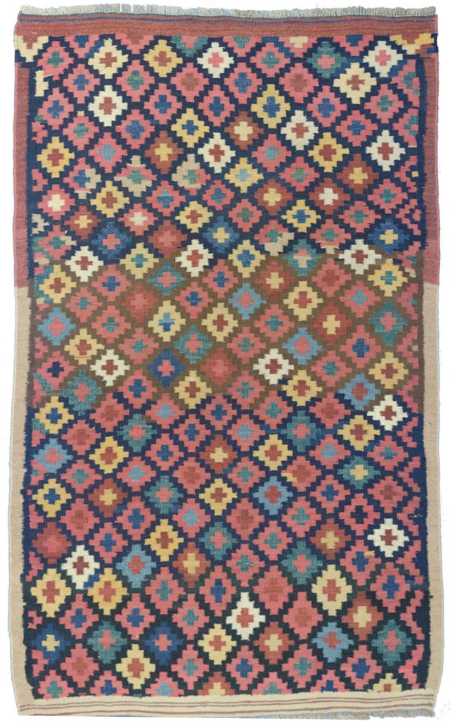 Antique Afshar Kilim Rug 177x110cm