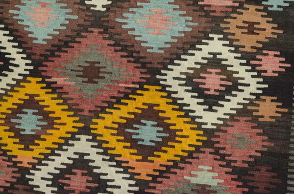Antique Varamin Kilim Carpet 320x172cm