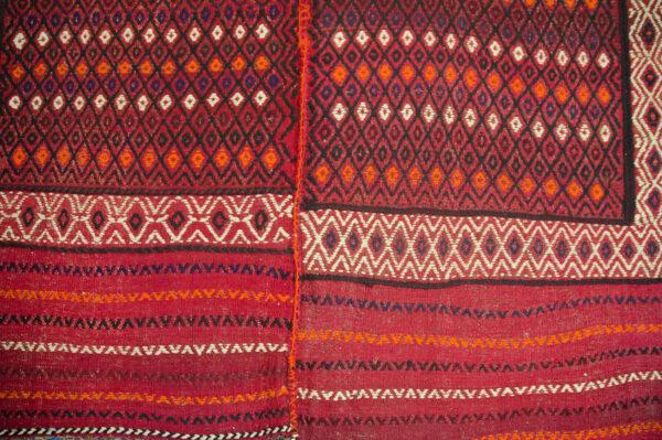Vintage Qashqai Shiraki Kilim Rug 225x166cm