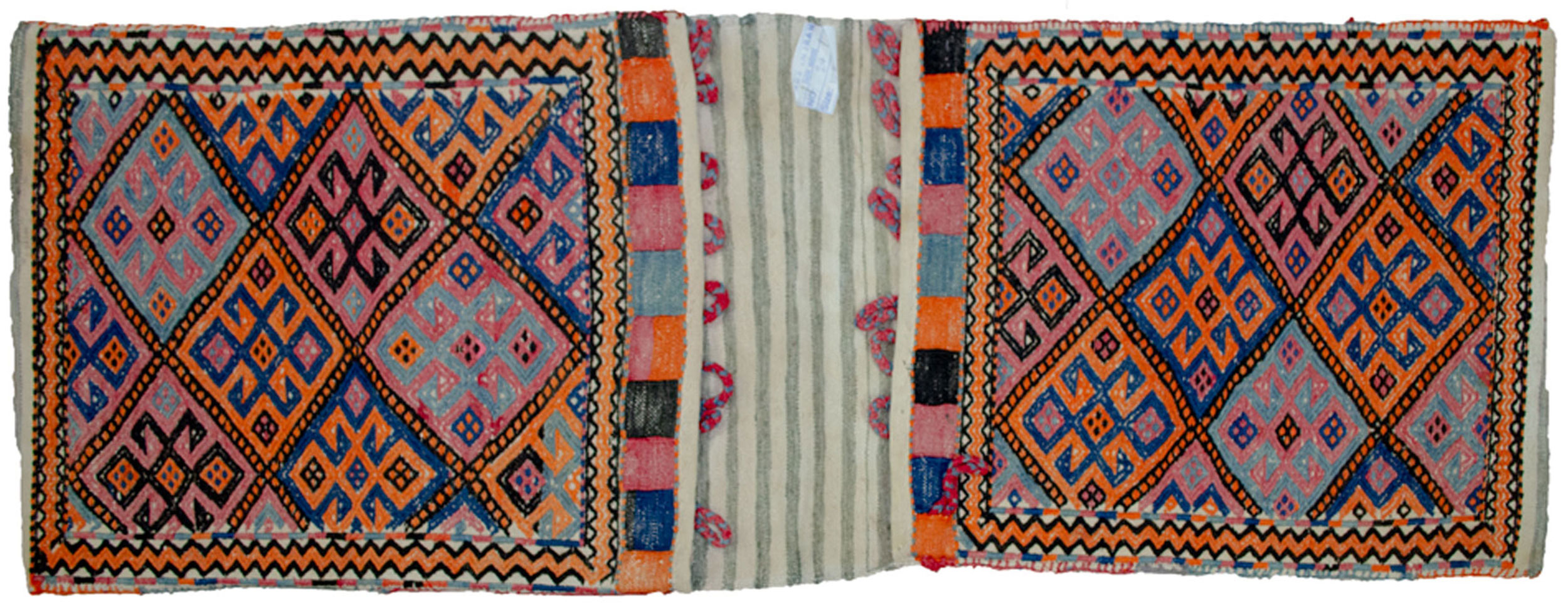 Antique Azarbijan Khorjin Bag 128x49cm