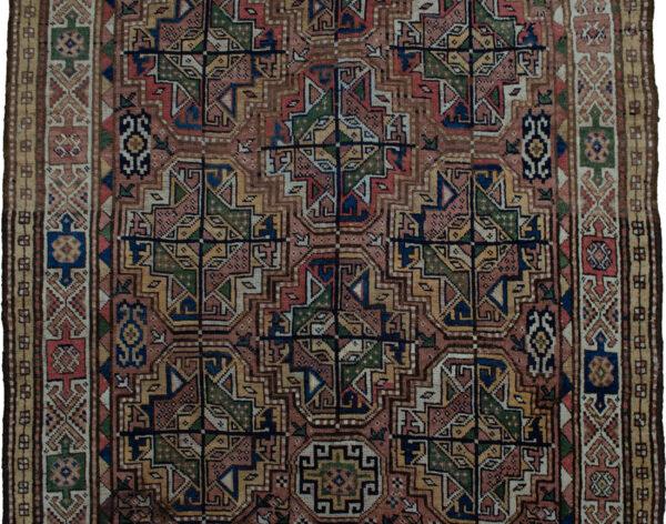 Antique Qoochan Rug 211x142cm