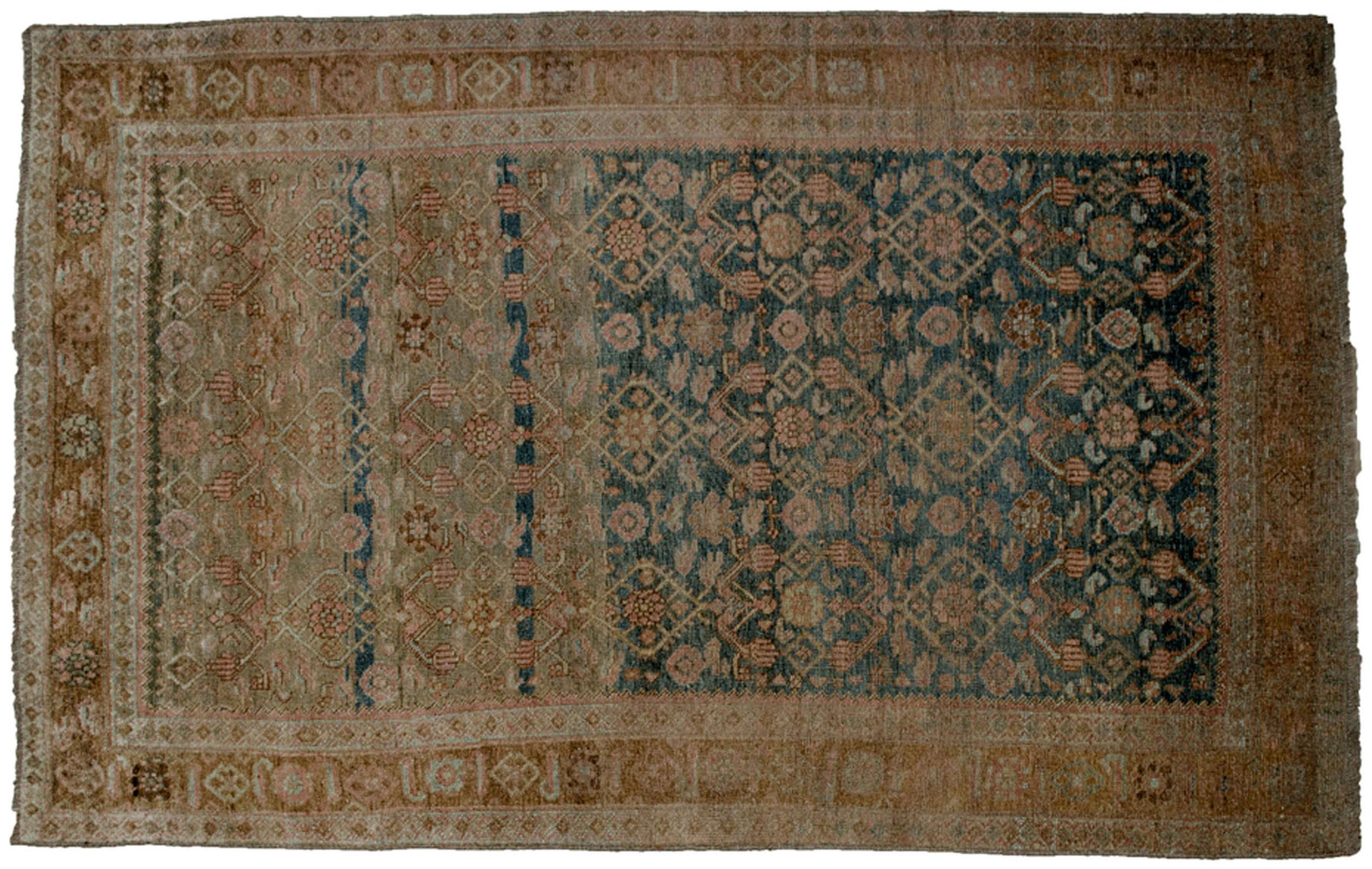 Antique Bijar Rug 194x123cm
