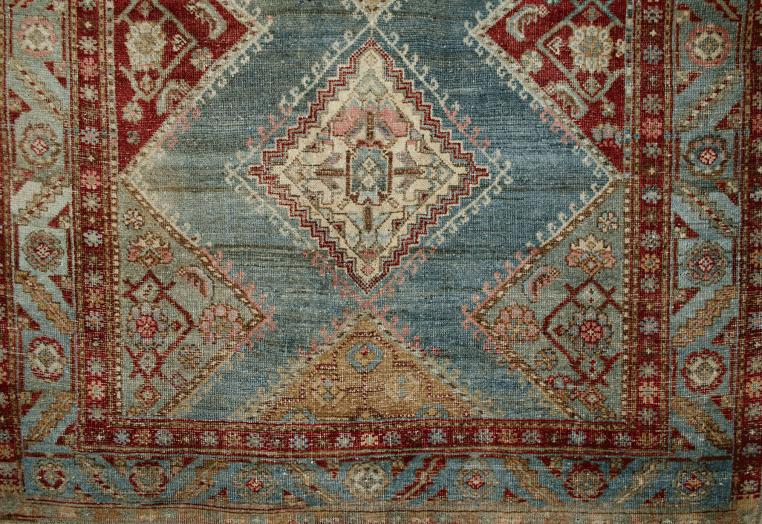 Antique Bijar Rug 202x128cm