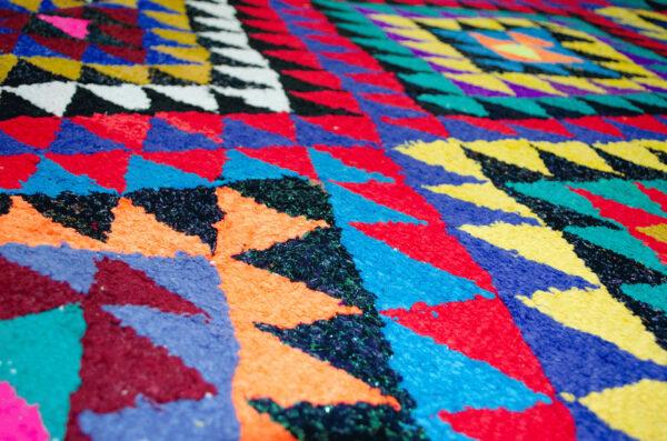 Persian Kilim Carpet 302x202cm