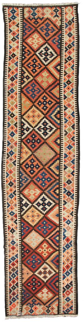 Antique Azerbijan Kelim Runner 574x110cm