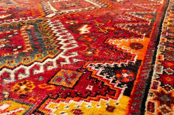 Vintage Qashqai Rug 228x106cm