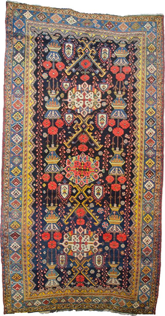 Antique Bakhtiar Rug 300x158cm