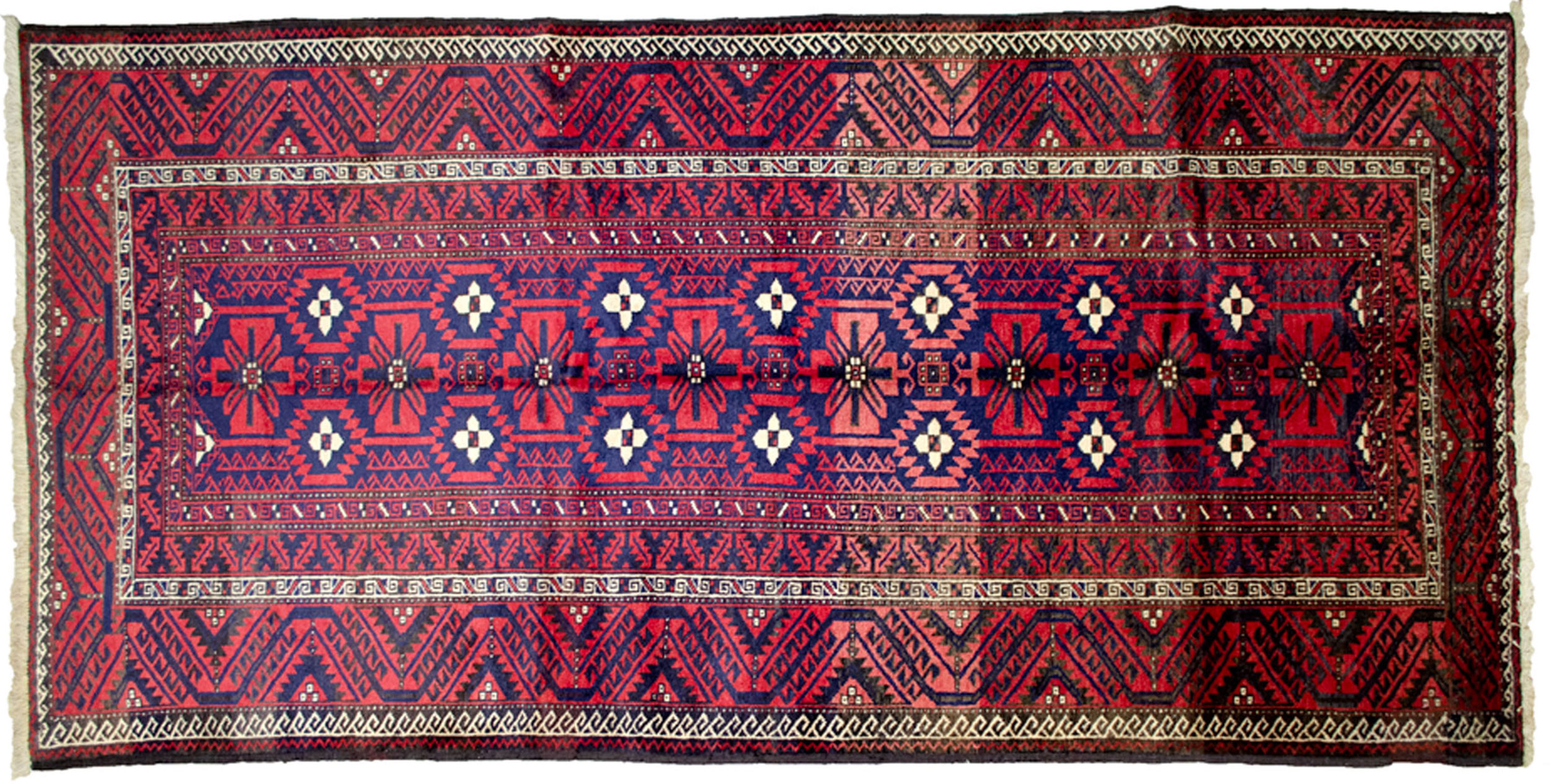 Vintage Baluch Rug 284x140cm