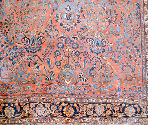 Antique Saruk Carpet 321x233cm
