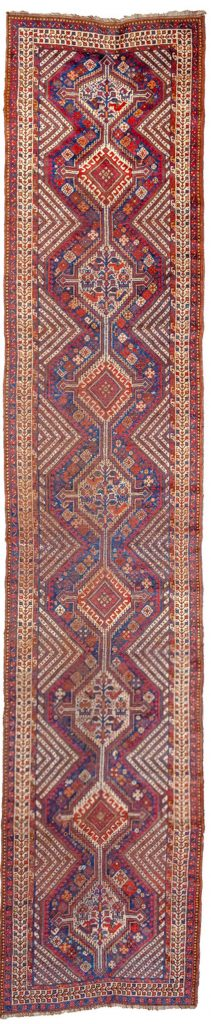 Antique Khamseh Runner 442x96cm