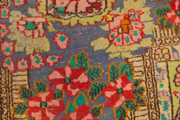 Antique Yazd Carpet 408x364cm