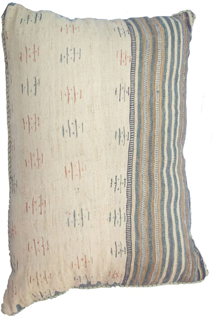 Antique Azarbijan Kilim Floor Cushion 87x65cm