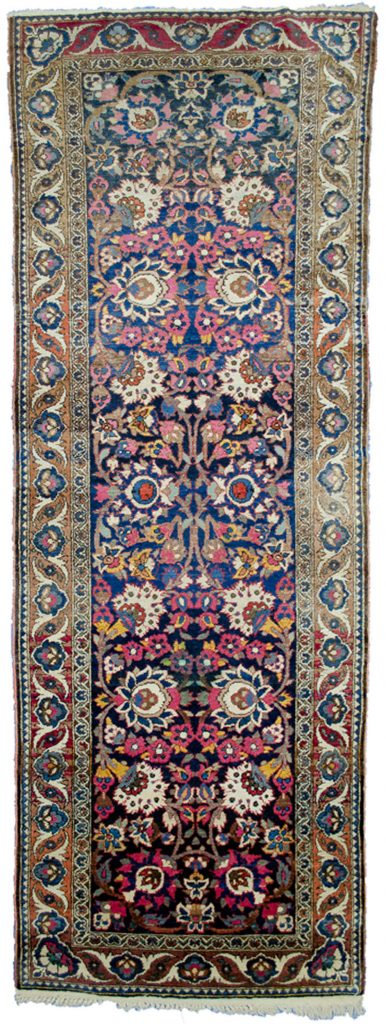 Antique Bakhtiar Runner 281x100cm