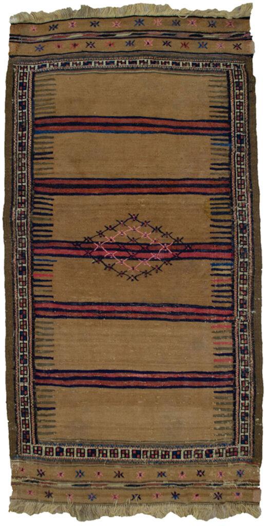 Antique Quchan Kilim 127x68cm