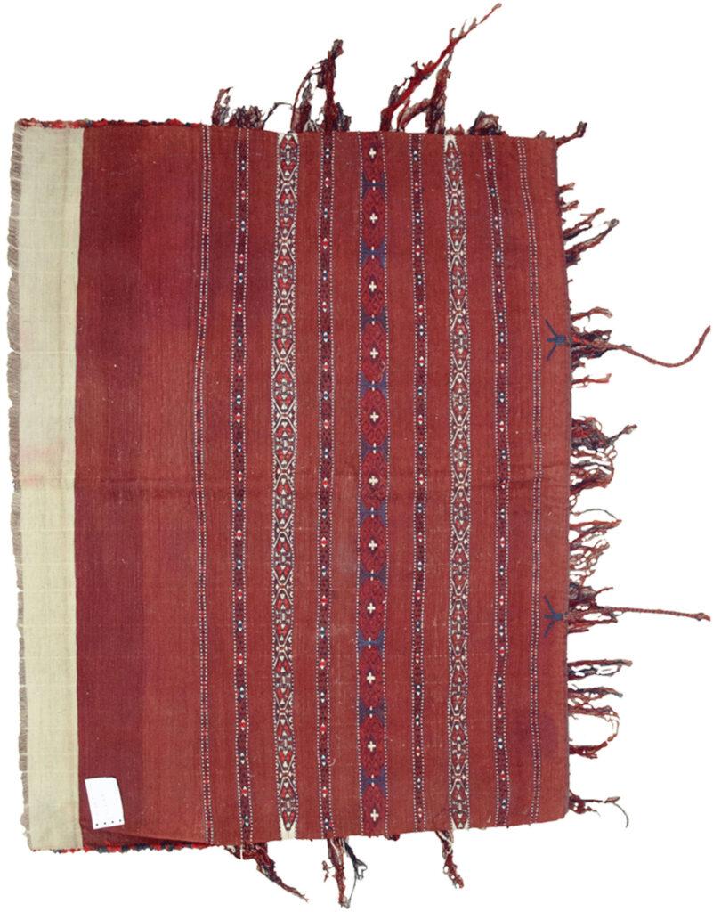 Antique Turkmen Tobreh 107x84cm