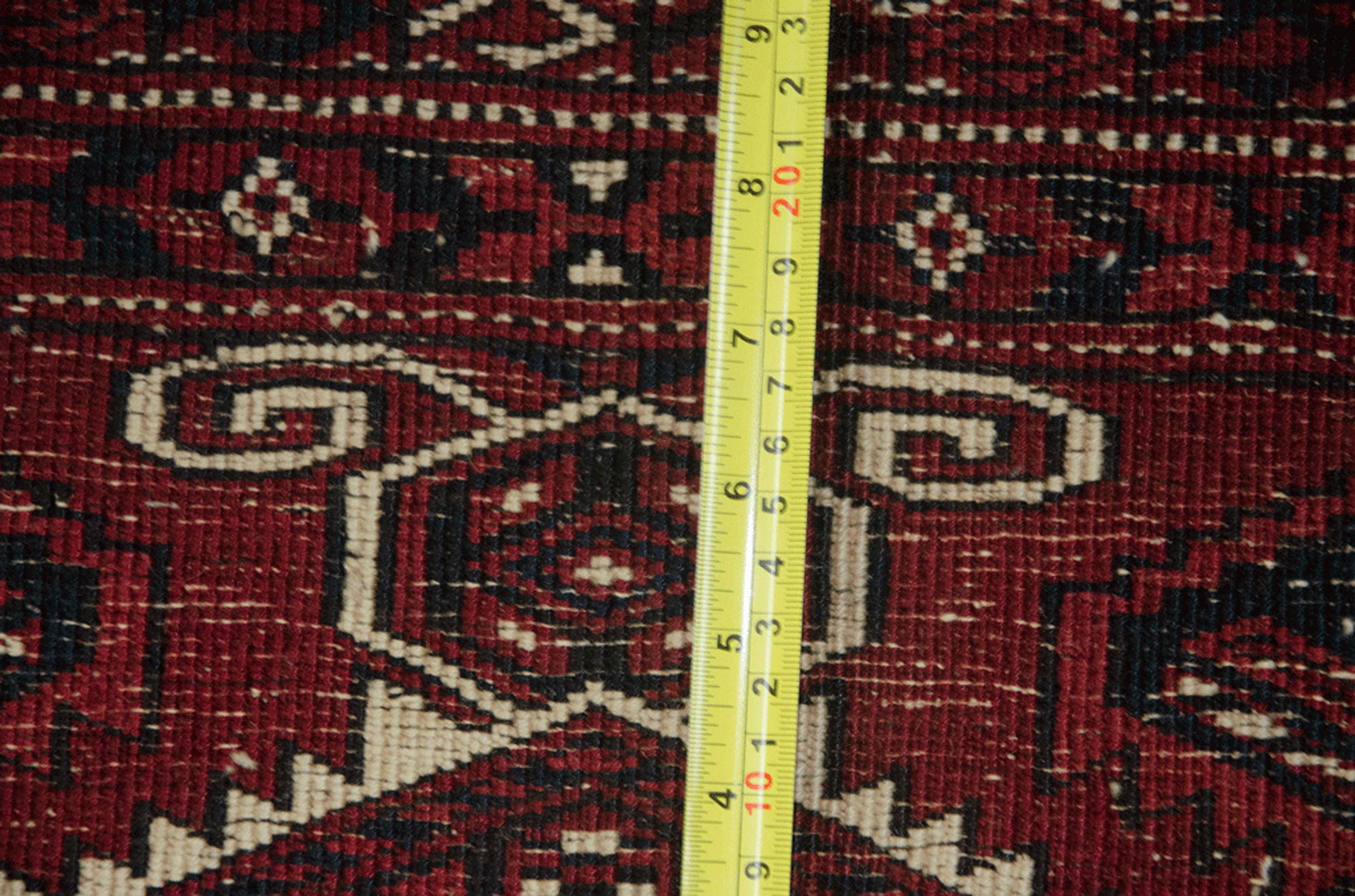 Vintage Turkmen Carpet 334x224cm