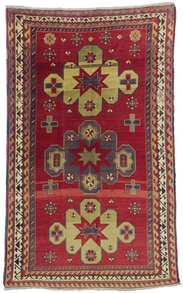 Vintage Kazak Rug 246x151cm