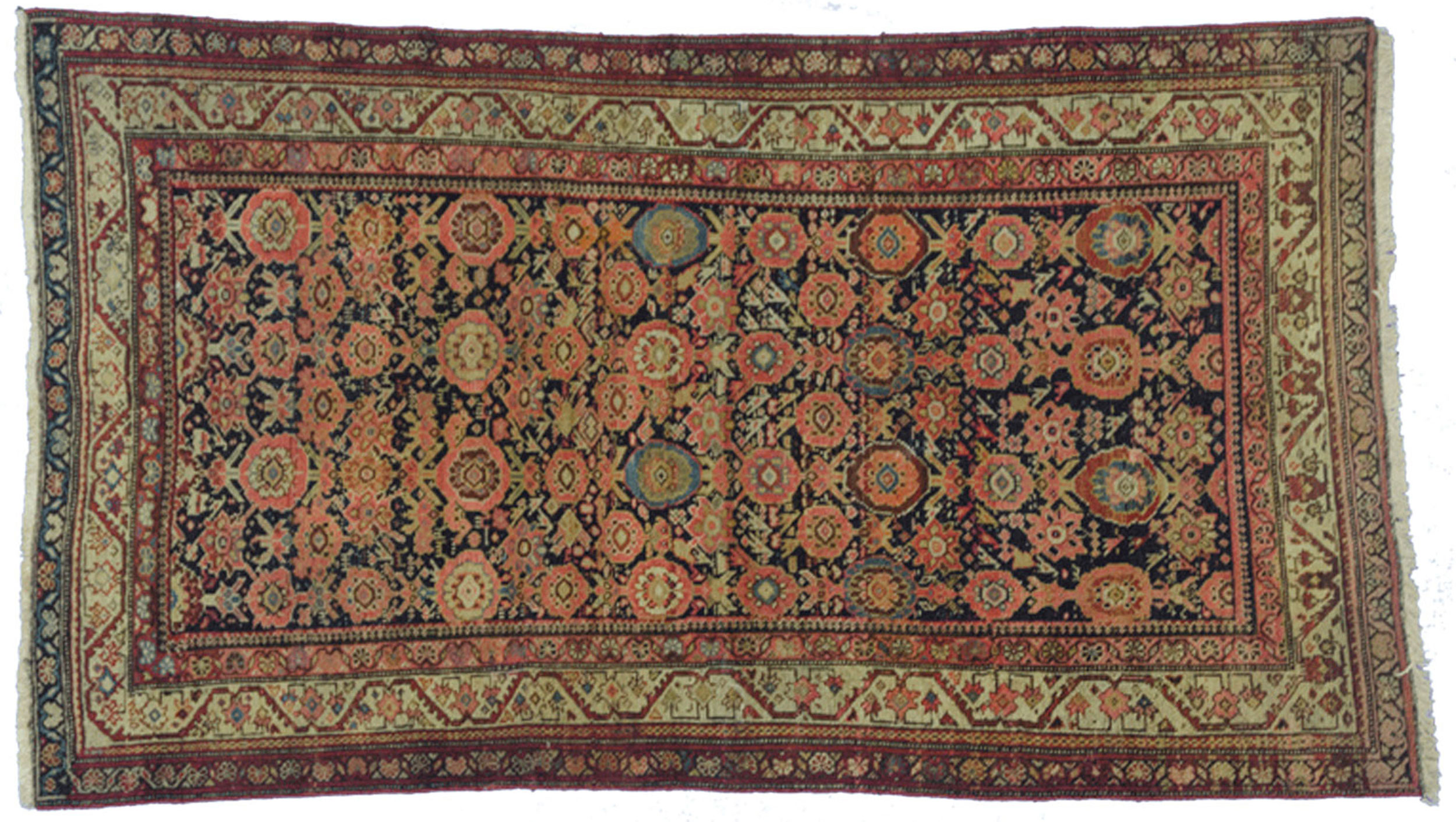 Antique Malayer Rug 178x102cm