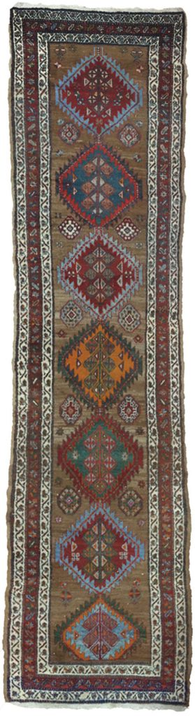 Antique Kordi Runner 393x98cm