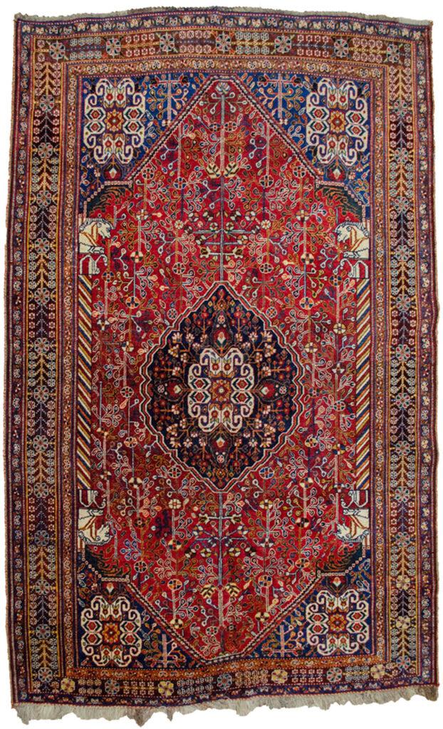 Antique Qashqai Rug 237x147cm