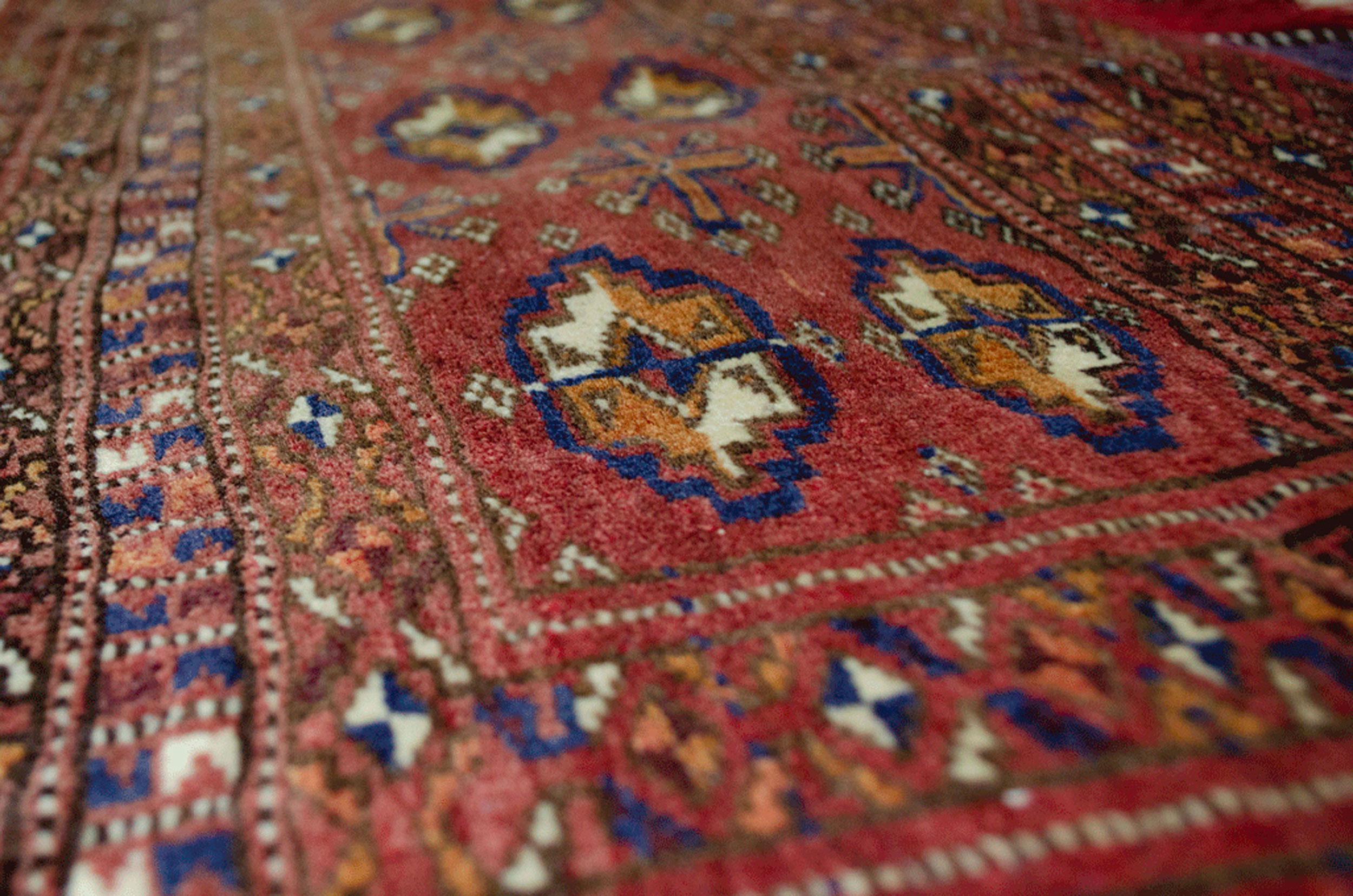 Vintage Turkmen Tobreh 111x44cm