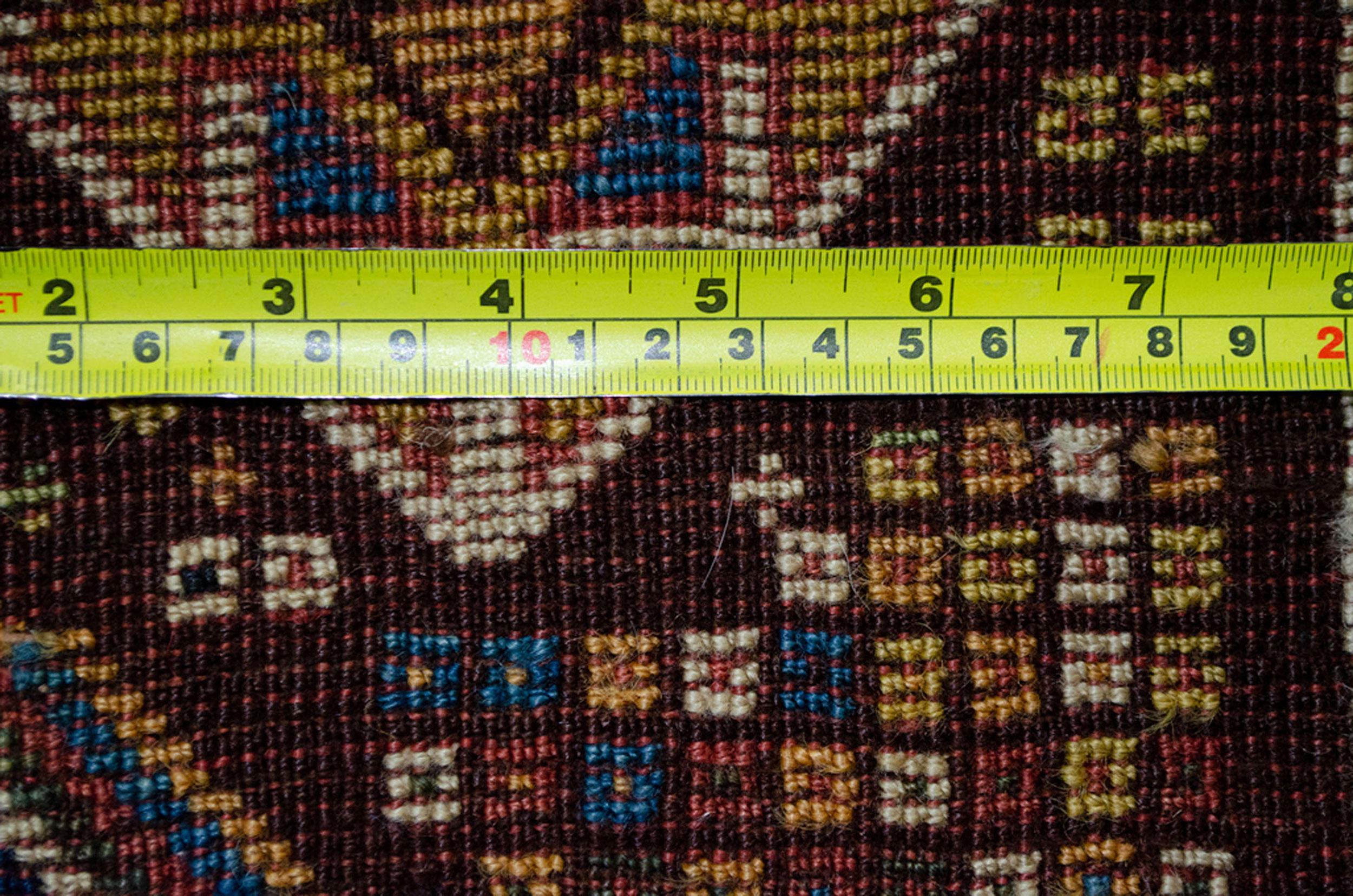 Antique Qashqai Rug 143x81cm