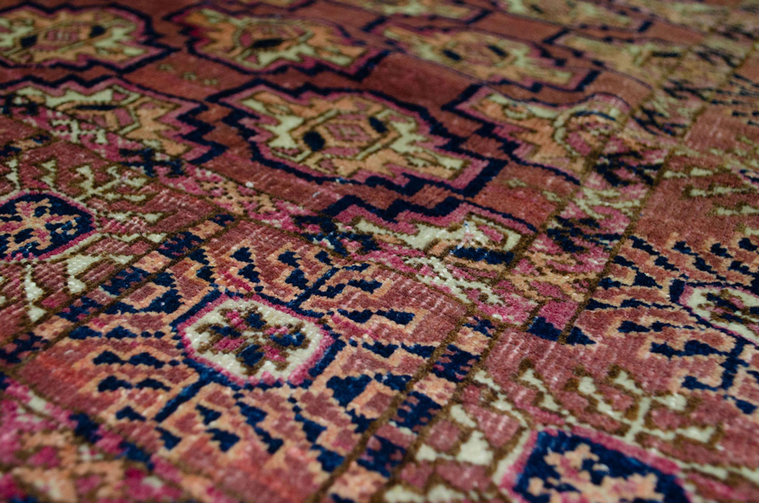 Antique Turkman Rug 131x96cm