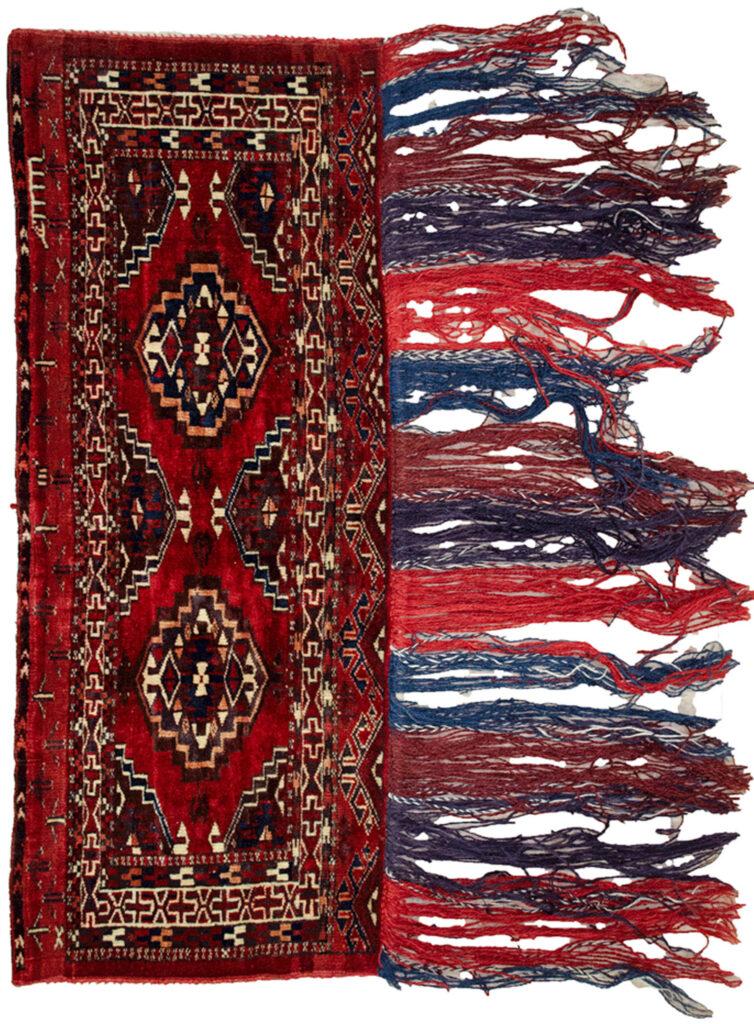 Vintage Turkmen Tobreh 100x38cm