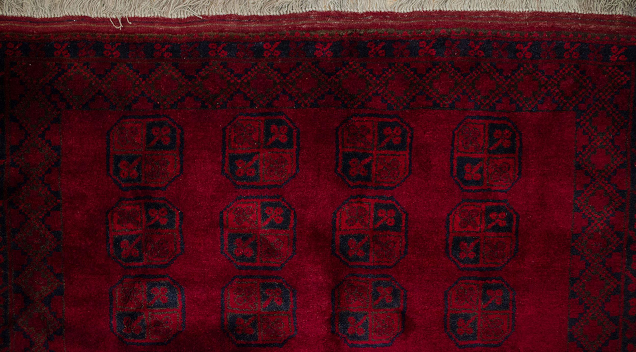 Vintage Aktche Carpet 300x194cm