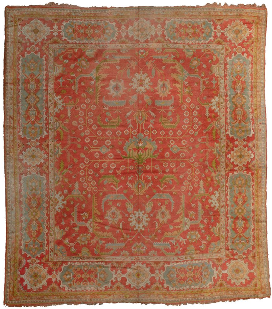 Antique Ushak Carpet 466x427cm