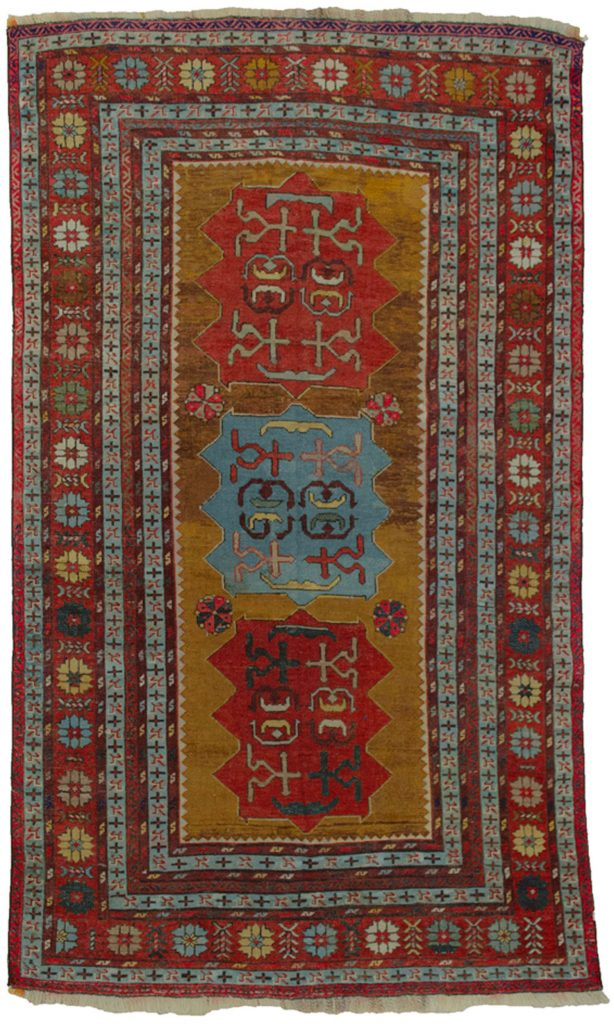 Antique Kazak Rug 205x121cm