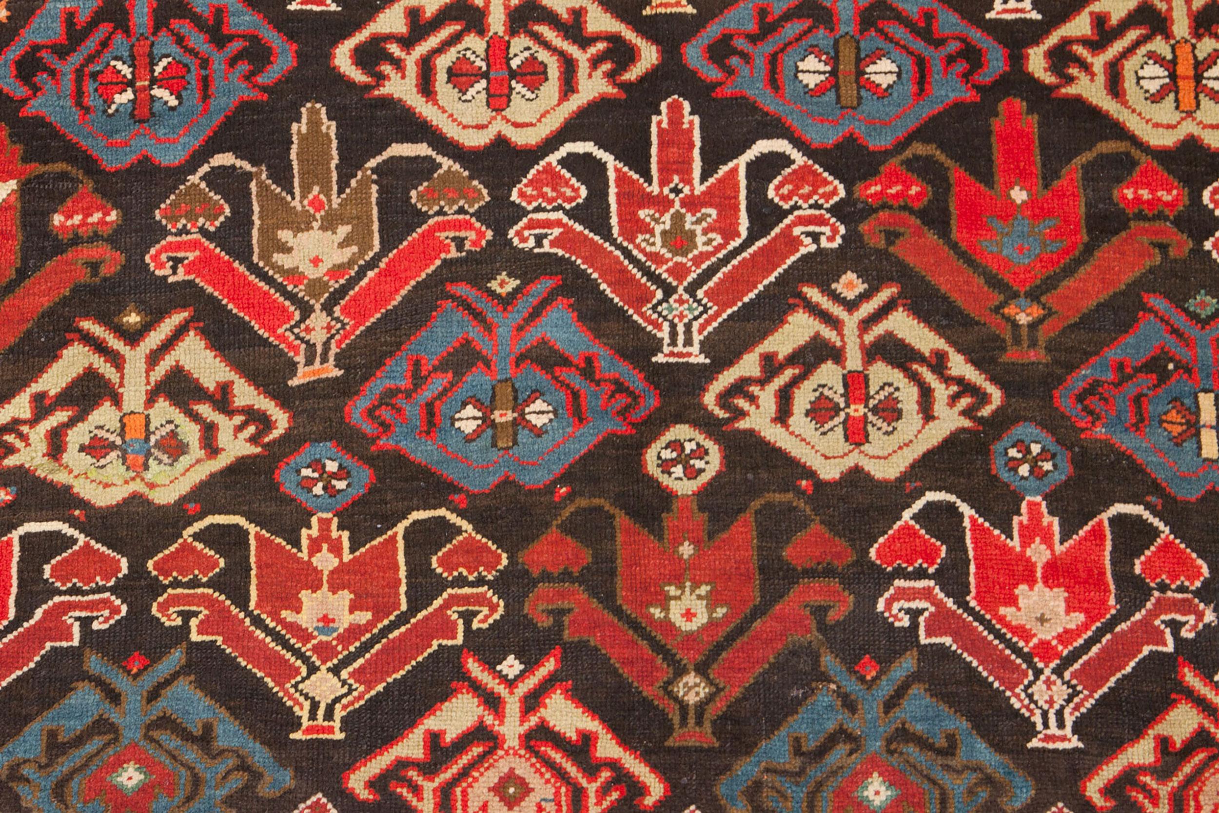 Vintage Karabagh Rug 220x128cm