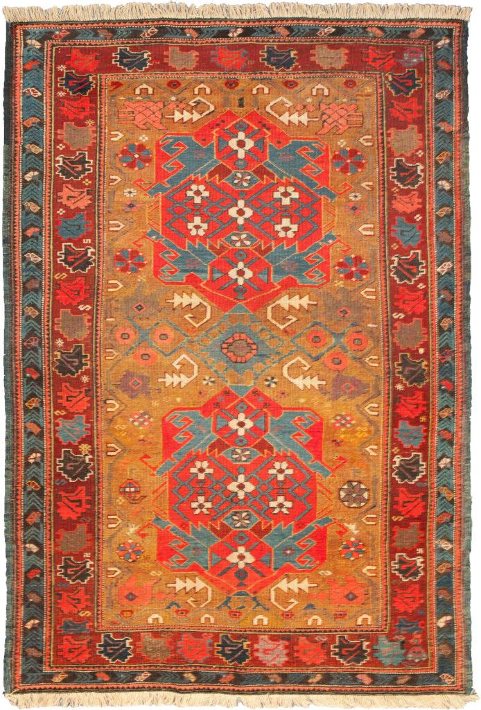 Antique Kazak Rug 177x133cm