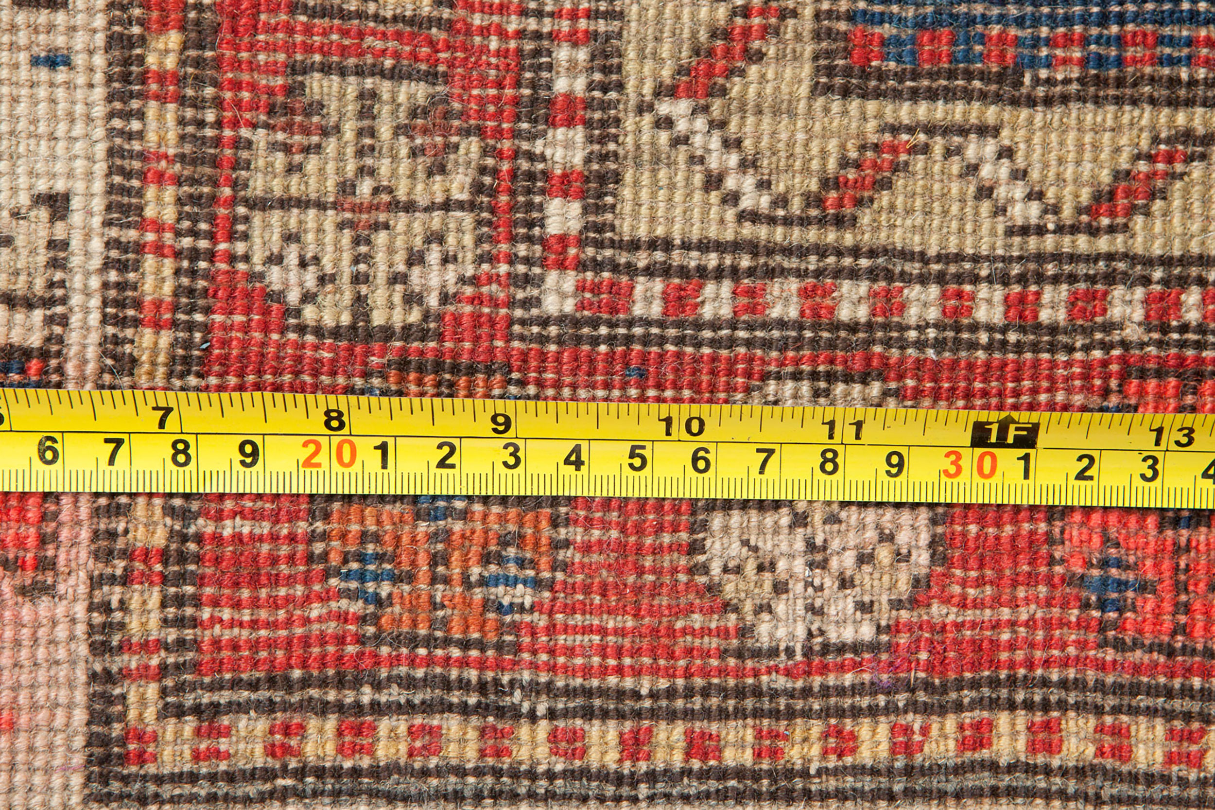 Antique Kazak Runner 283x106cm