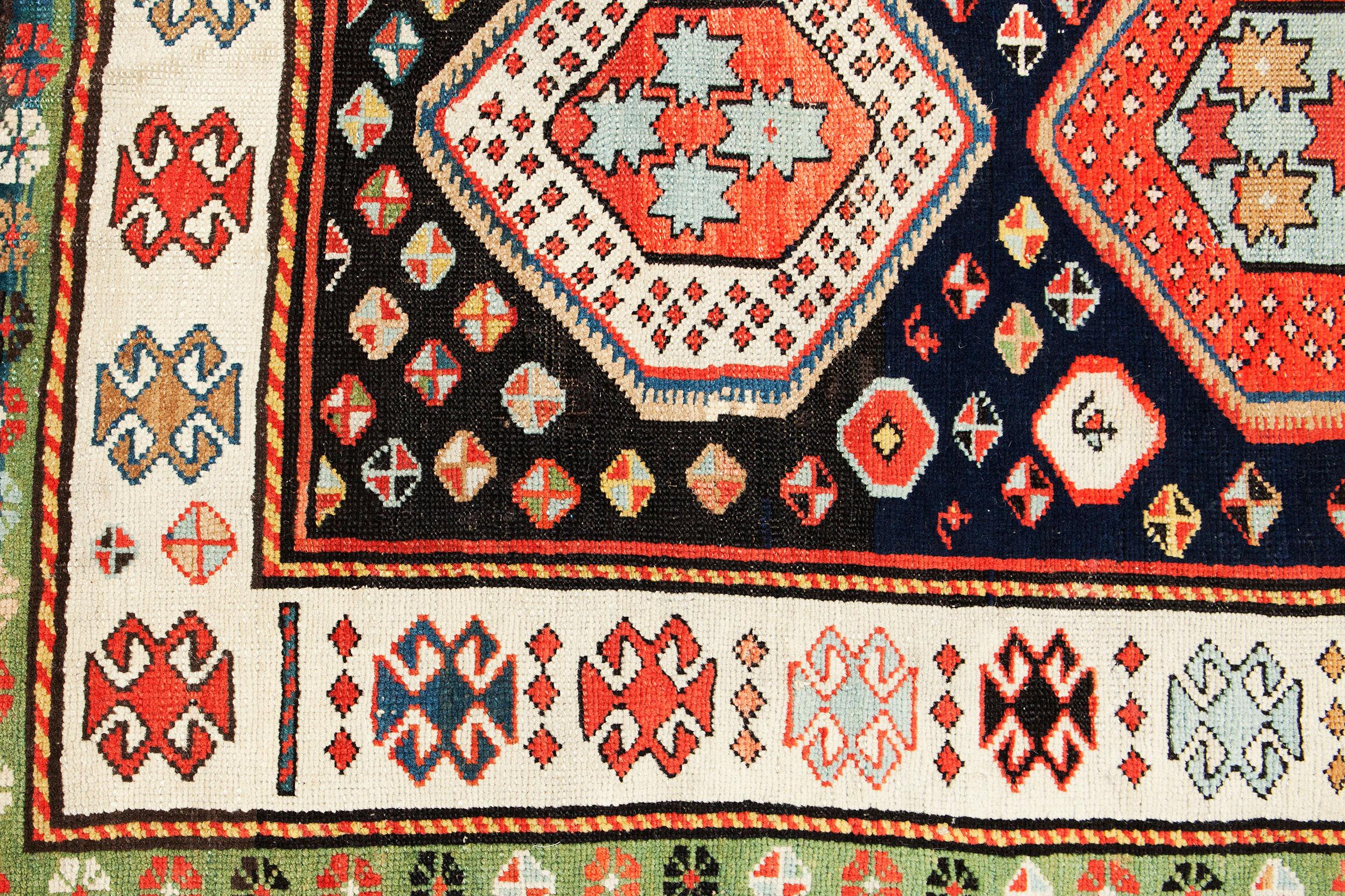 Antique Kazak Rug 154x92cm