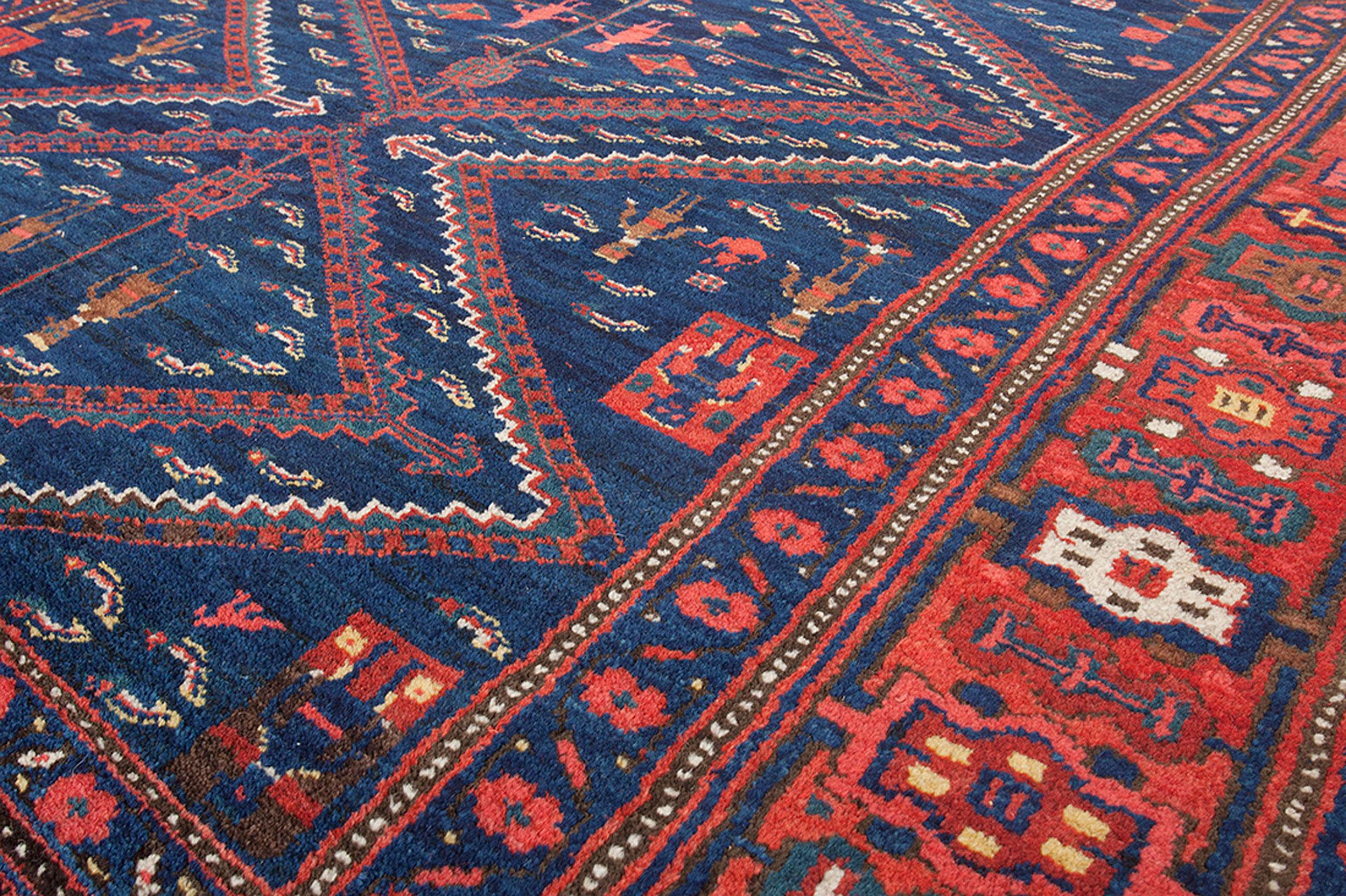 Antique Kurdish Carpet 307x168cm