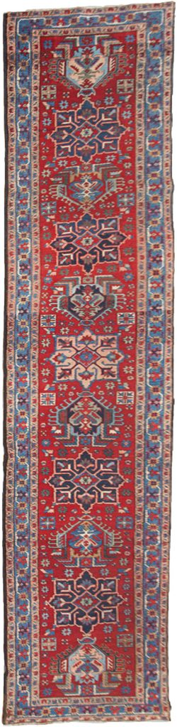 Antique Heriz Runner 430x88cm