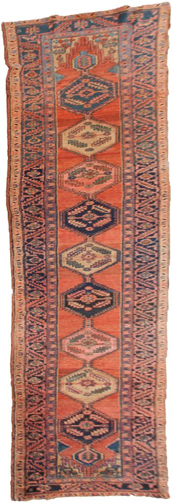 Antique Heriz Runner 544x100cm