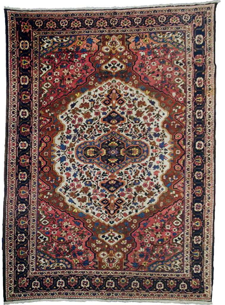 Vintage Bakhtiar Faradonbe Carpet 320x230cm
