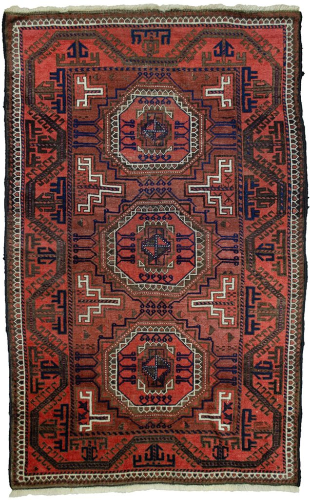 Antique Baluch Rug 154x99cm