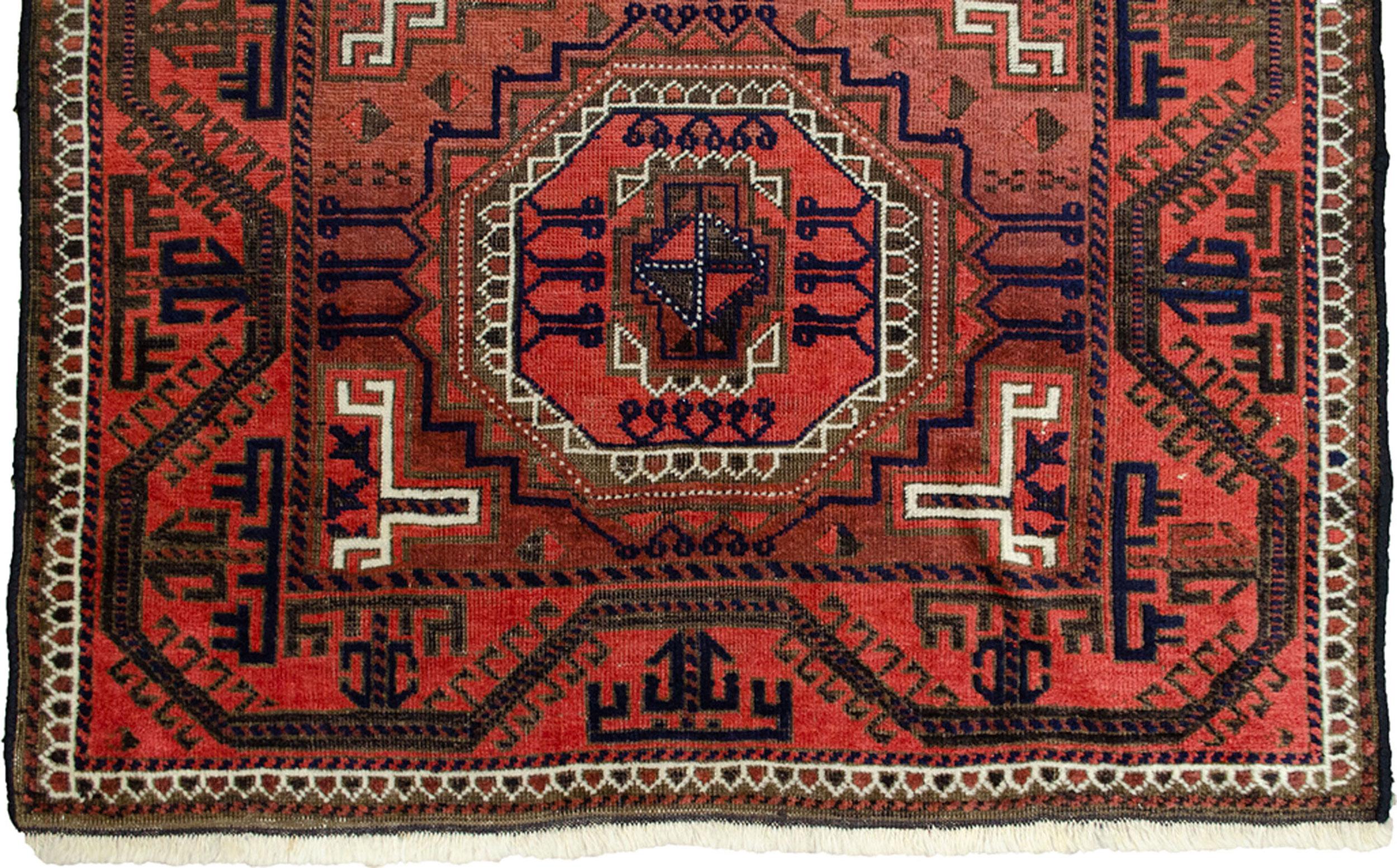 Antique Baluch Rug 154x99cm