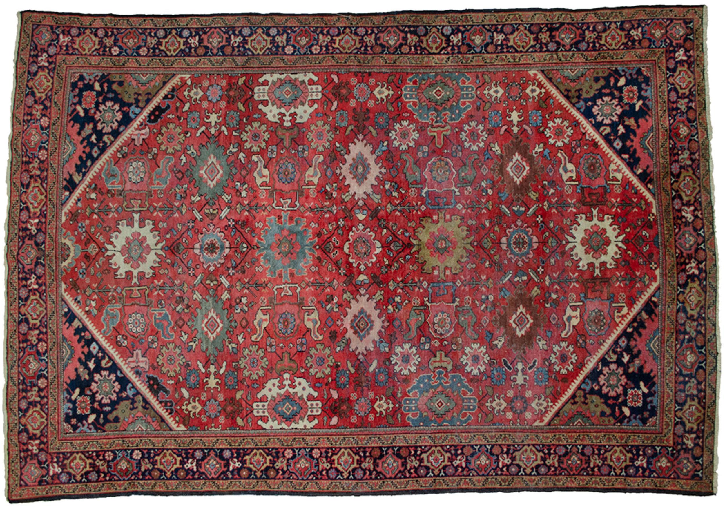 Antique Mahal Carpet 304x213cm