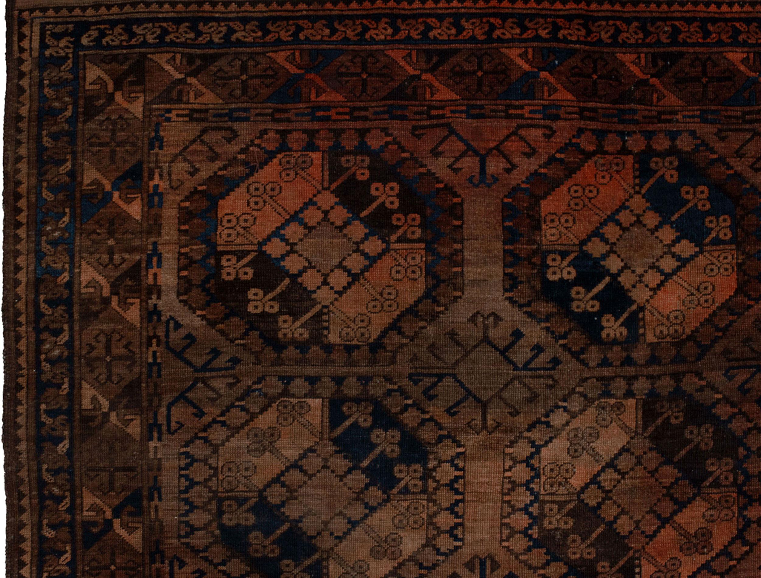 Antique Ersari Rug 312x221cm