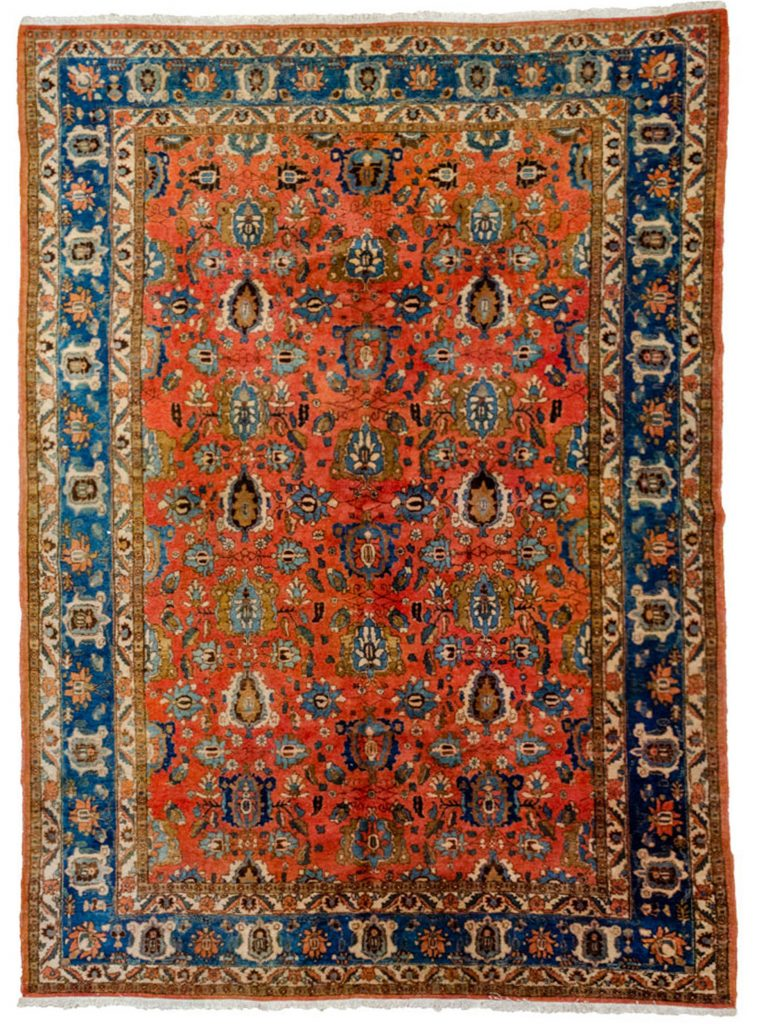 Vintage Varamin Carpet 320x212cm