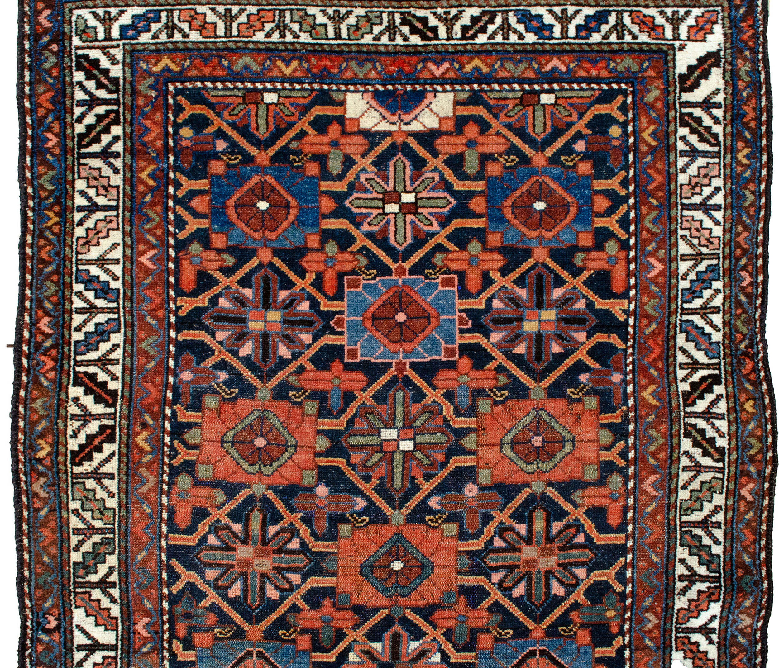 Antique Zanjan Rug 197x101cm